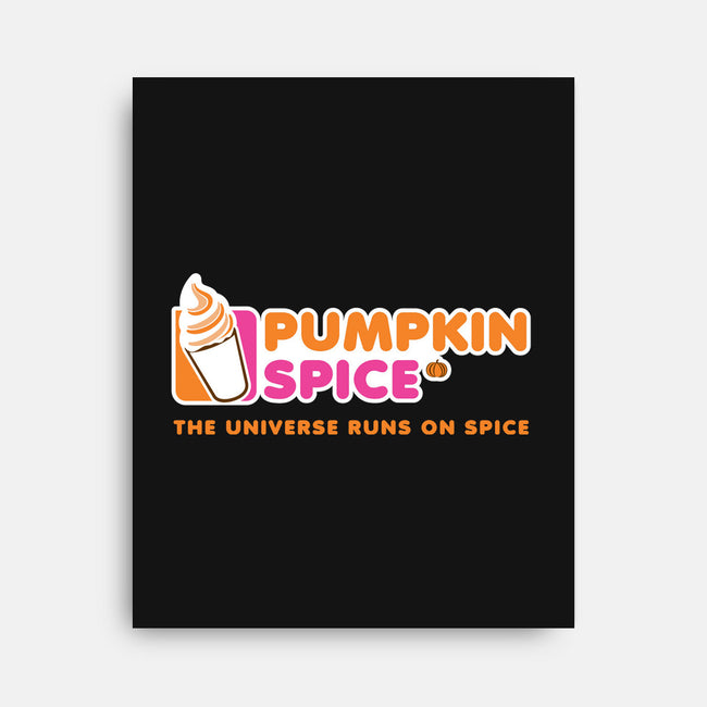 Pumpkin Spice-none stretched canvas-amanoxford