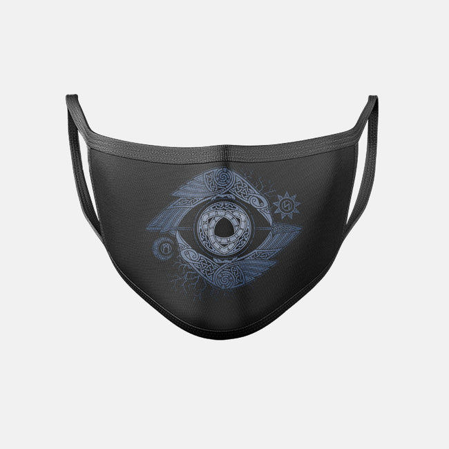 ODIN'S EYE-unisex basic face mask-RAIDHO