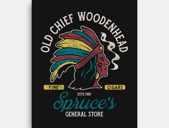 Old Chief Woodenhead