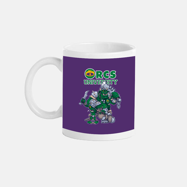 Orcs University-none glossy mug-CuckooArtDesign