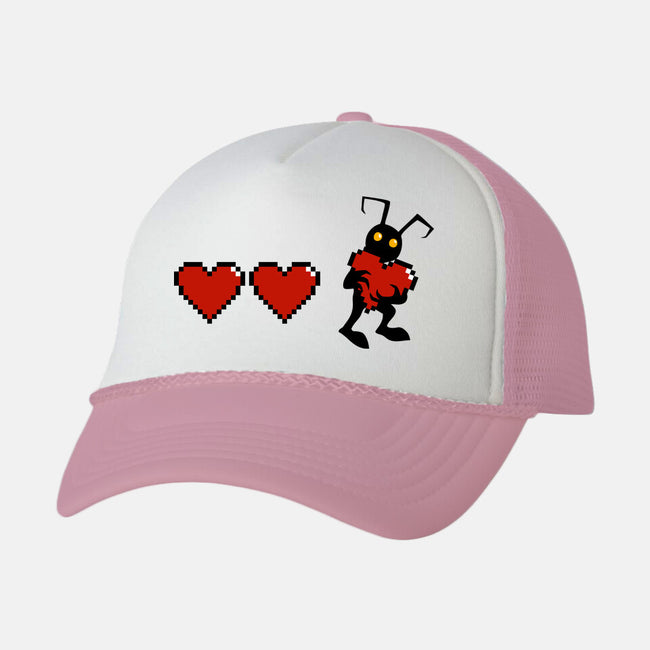 Need Heart-unisex trucker hat-ducfrench