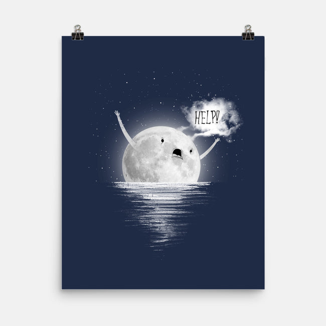 Need Help-none matte poster-azrafdesign