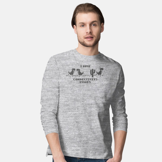 Network Connectivity Issues-mens long sleeved tee-Beware_1984