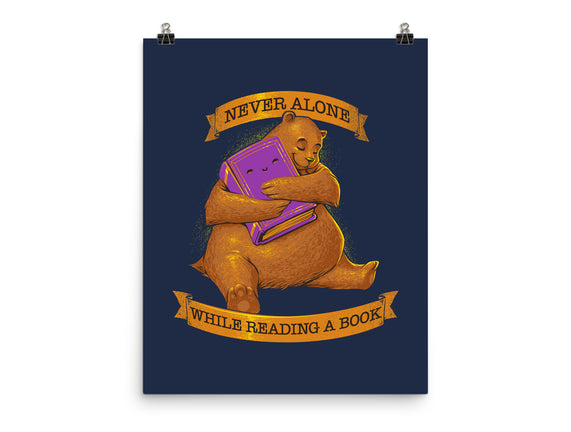 Never Alone While Reading a Book