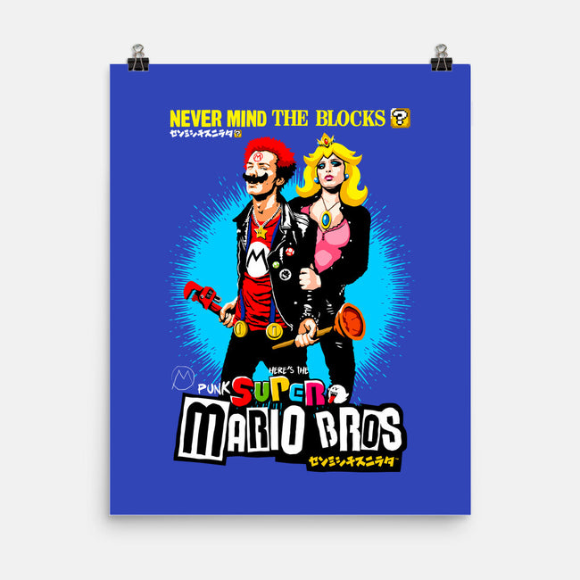 Never Mind the Blocks-none matte poster-butcherbilly