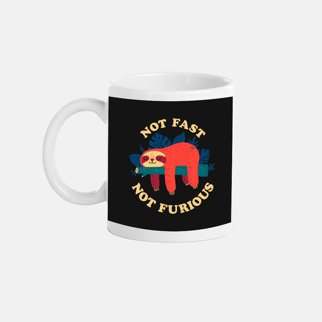 Not Fast, Not Furious-none glossy mug-DinomIke