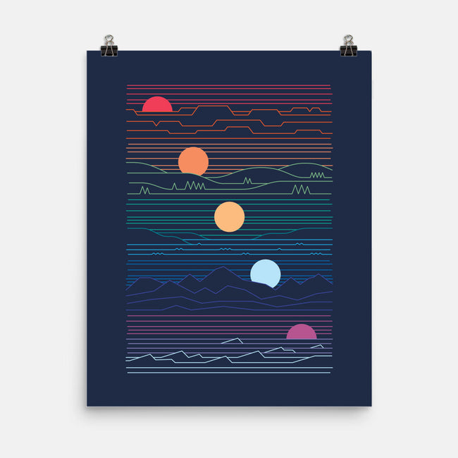 Many Lands Under One Sun-none matte poster-ThePaperCrane