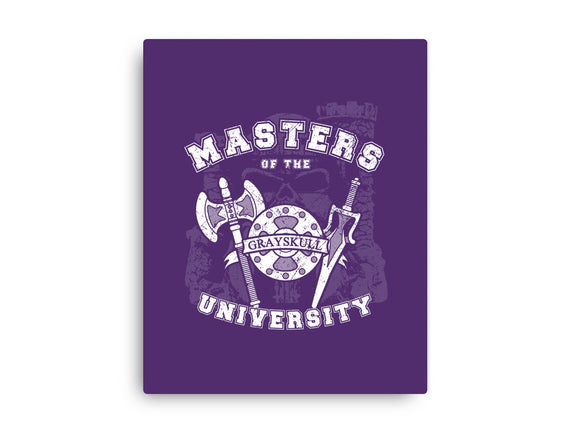 Masters of the University