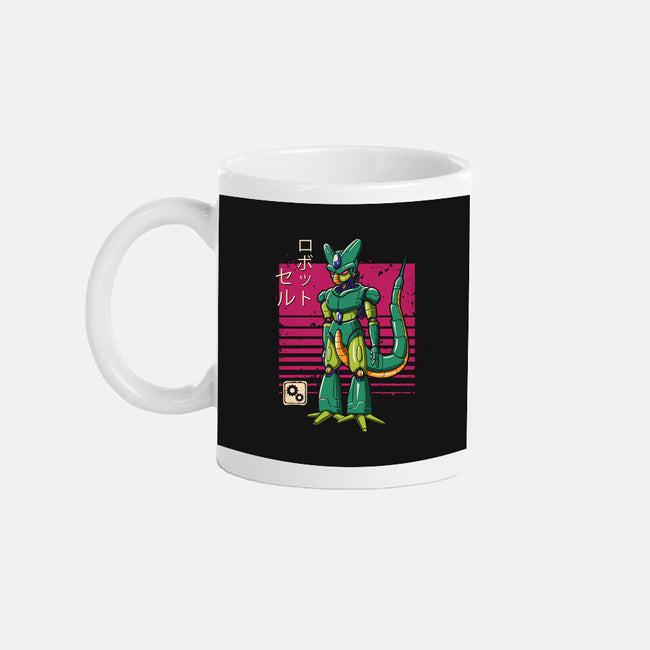 Mecha Cell-none glossy mug-vp021