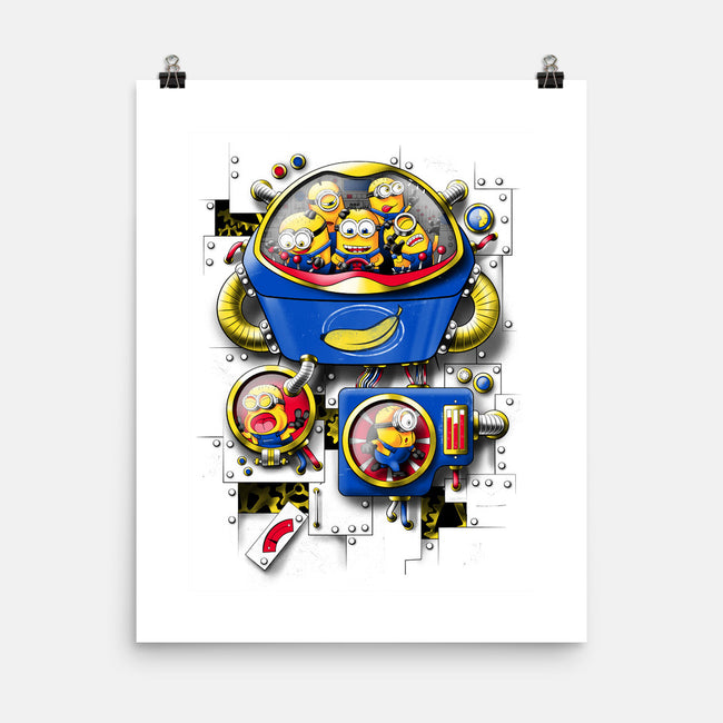 Mechanical Me-none matte poster-Ian Leino