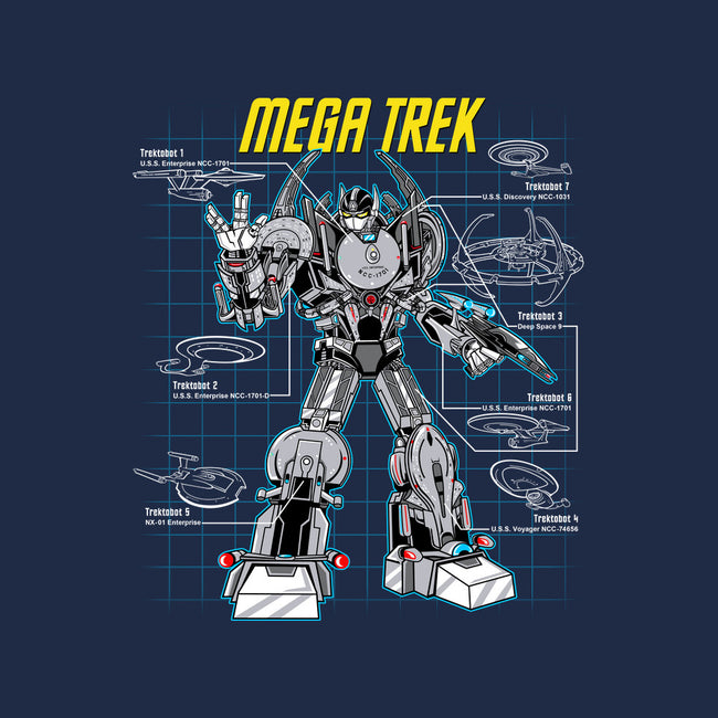 Mega Trek-none glossy sticker-Robreepart
