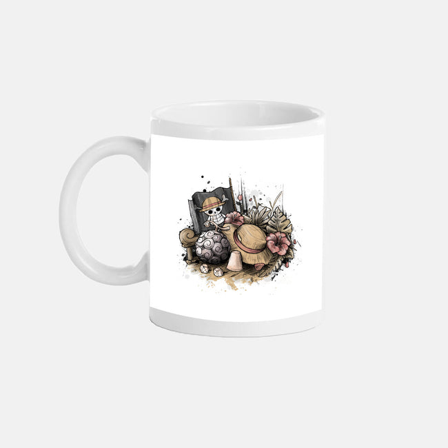 Memories of The Pirate-none glossy mug-xMorfina