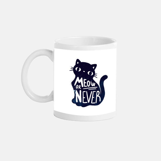 Meow or Never-none glossy mug-NemiMakeit