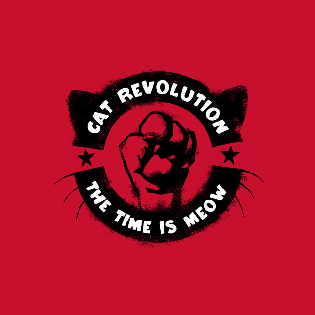 Meow Revolution-none glossy sticker-wearviral