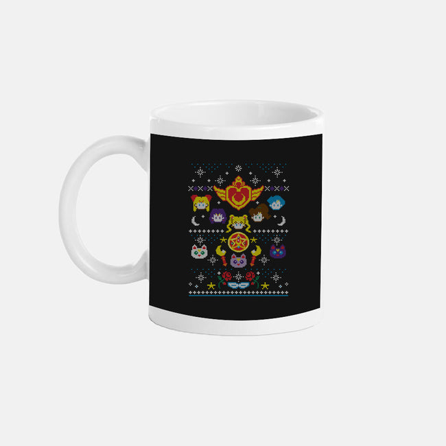 Merry Senshi-none glossy mug-machmigo