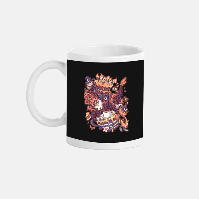Merry Unbirthday-none glossy mug-Jehsee