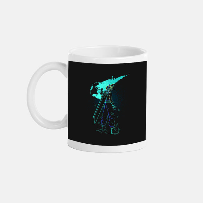 Meteor Shower-none glossy mug-Donnie