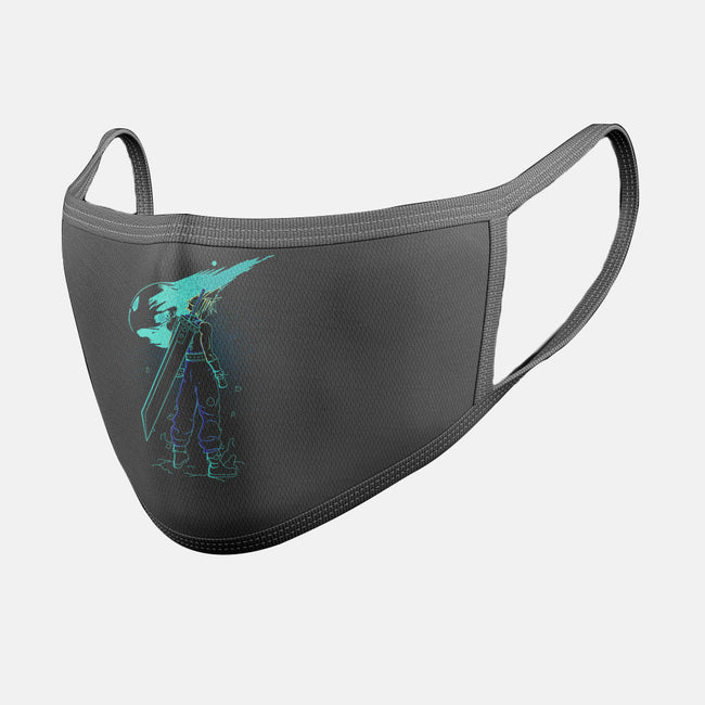 Meteor Shower-unisex basic face mask-Donnie