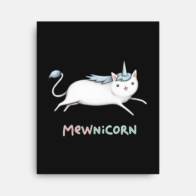 Mewnicorn-none stretched canvas-SophieCorrigan