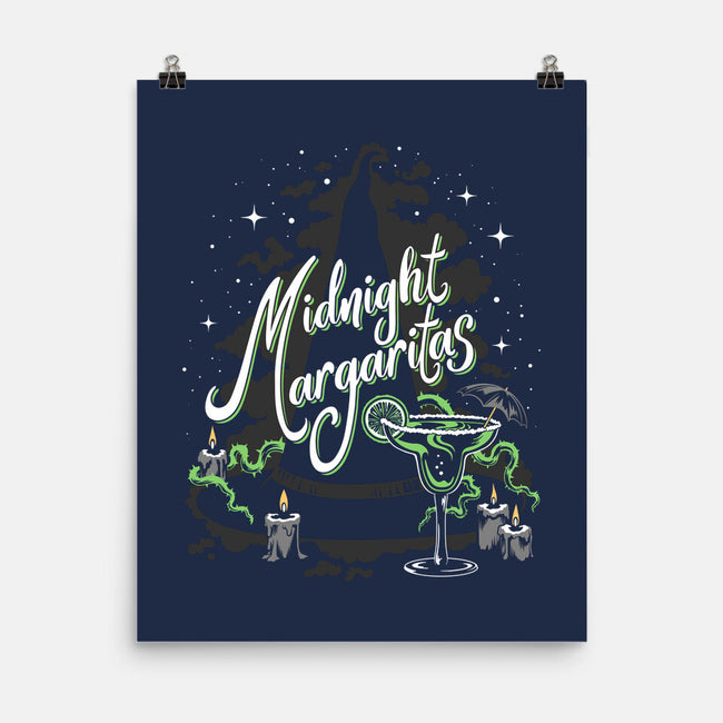 Midnight Margaritas-none matte poster-Kat_Haynes