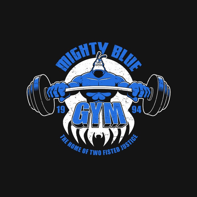 Mighty Blue Gym-none stretched canvas-adho1982