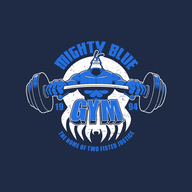 Mighty Blue Gym-none matte poster-adho1982
