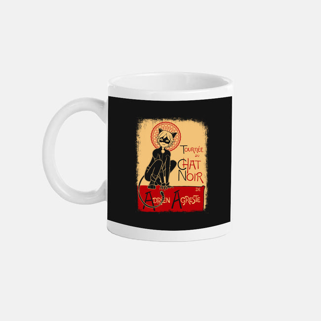 Miraculous Chat-none glossy mug-GallifreyaDs