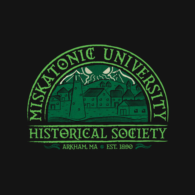 Miskatonic History Society-none glossy sticker-MJ