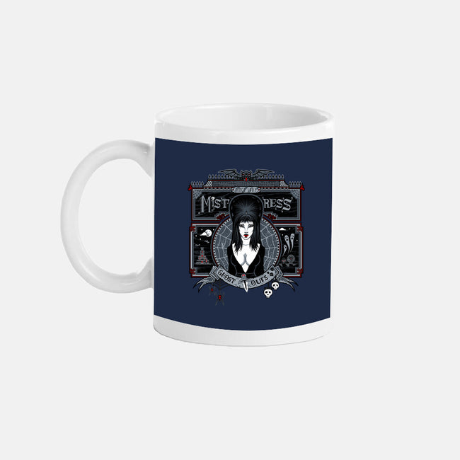 Mistress Ghost Tours-none glossy mug-onebluebird