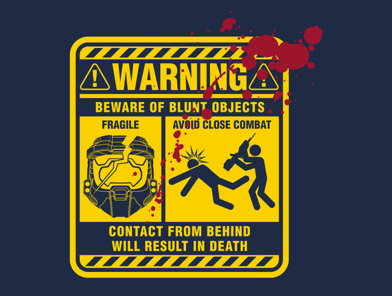 Mjolnir Warning Label