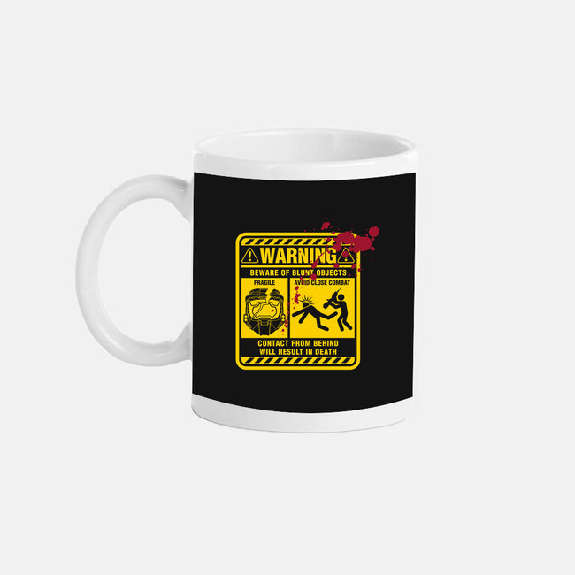 Mjolnir Warning Label-none glossy mug-Six Eyed Monster
