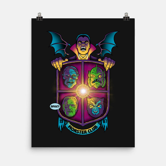Monster Club 1987-none matte poster-Bamboota