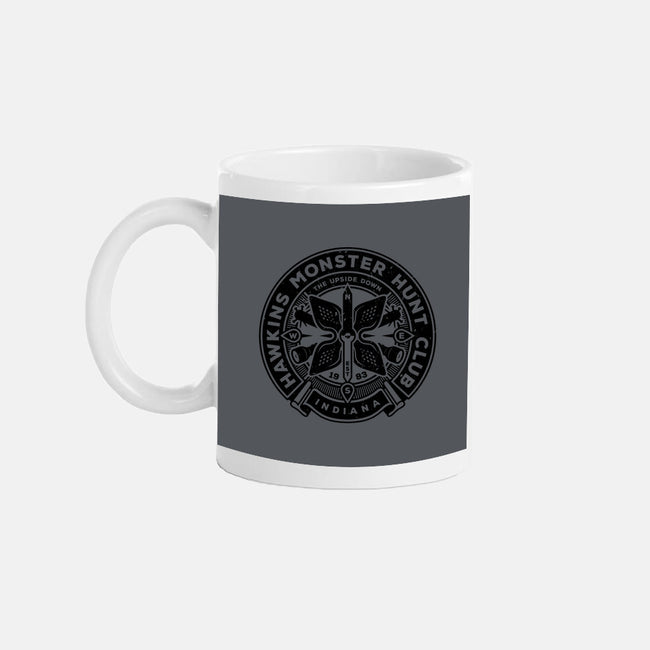 Monster Hunt Club-none glossy mug-stationjack