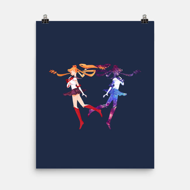 Moon Prism Power-none matte poster-lisaveeee