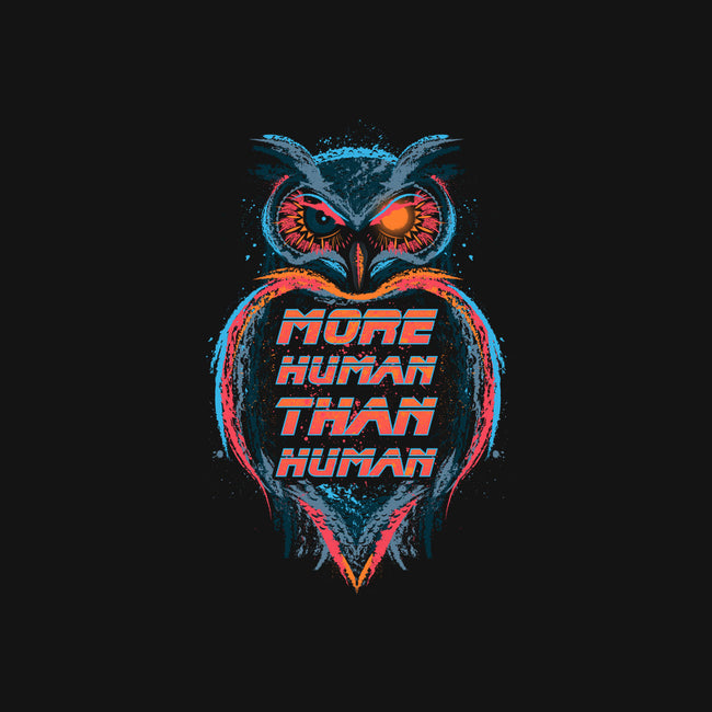 More Human Than Human-none stretched canvas-beware1984