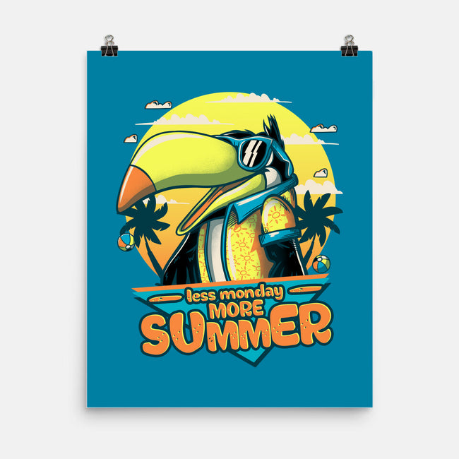 More Summer-none matte poster-xMitch