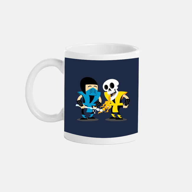Mortal Buddies-none glossy mug-JoeConde