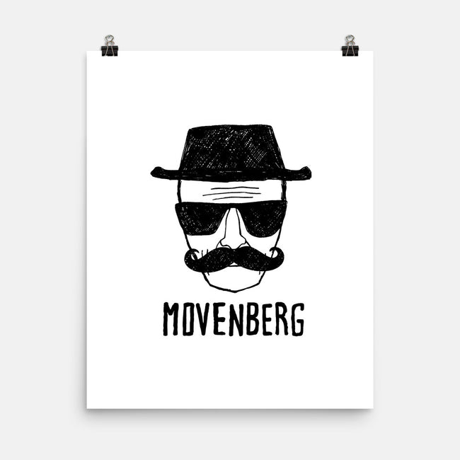 Movenberg-none matte poster-Raffiti