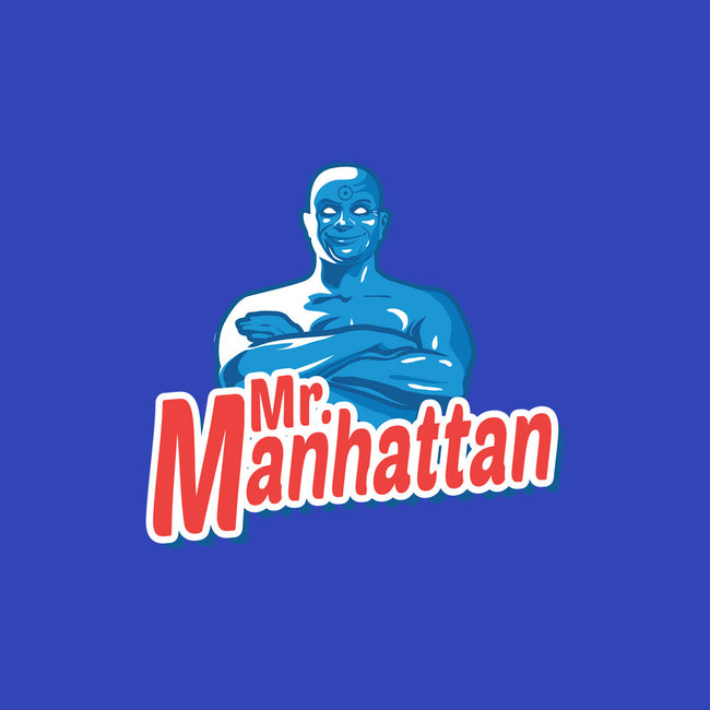 Mr Manhattan-none matte poster-MarkBado