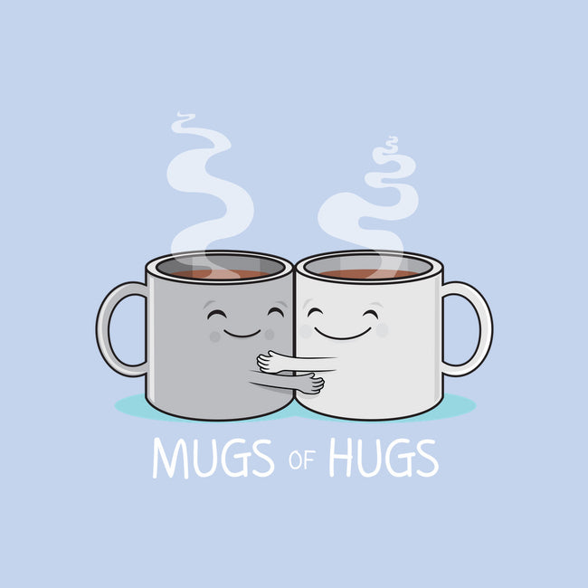 Mugs of Hugs-none glossy sticker-wotto