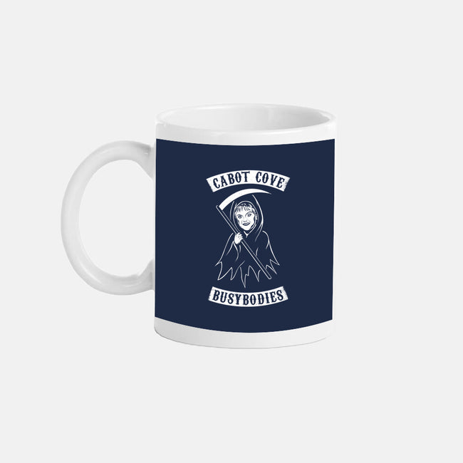 Murder She Rode-none glossy mug-MJ