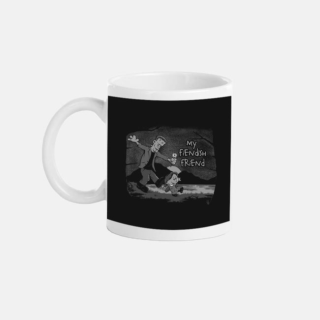 My Fiendish Friend-none glossy mug-mephias