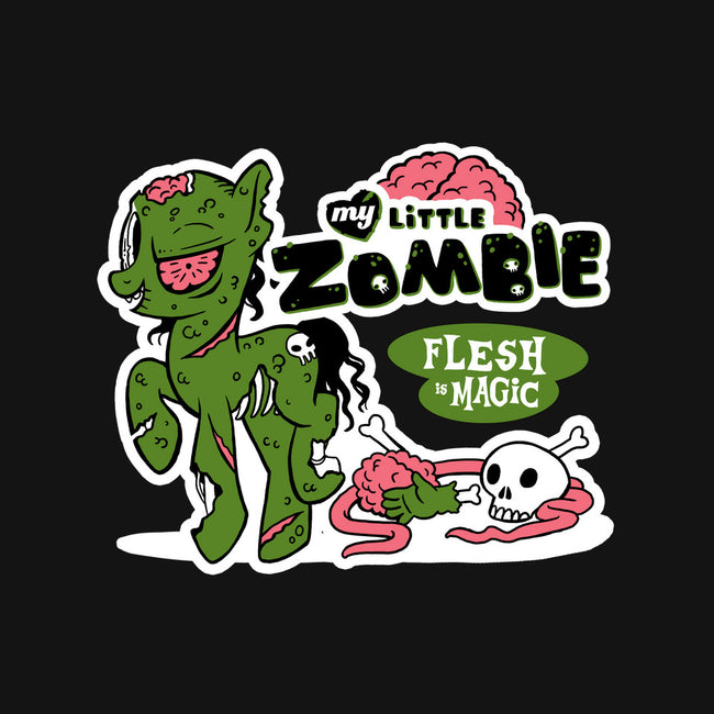 My Little Zombie: Flesh is Magic-none matte poster-spookyruthy