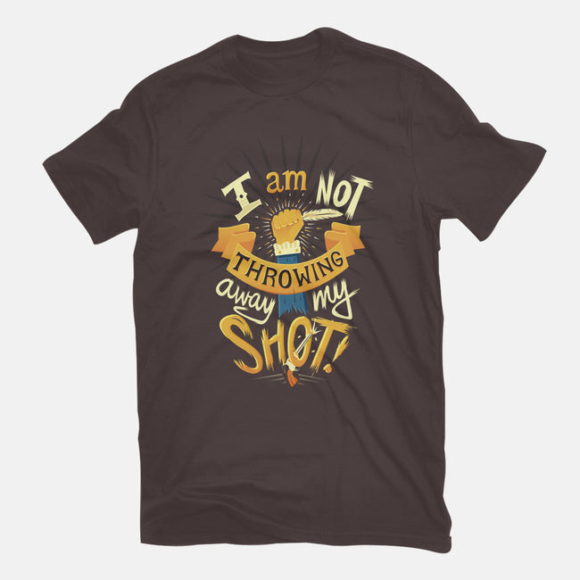 My Shot-mens heavyweight tee-risarodil