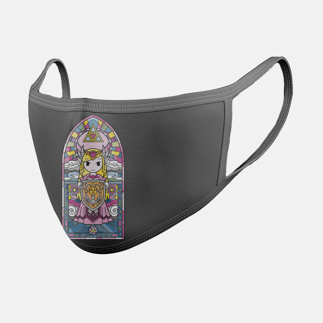 Lady of Hyrule-unisex basic face mask-drbutler