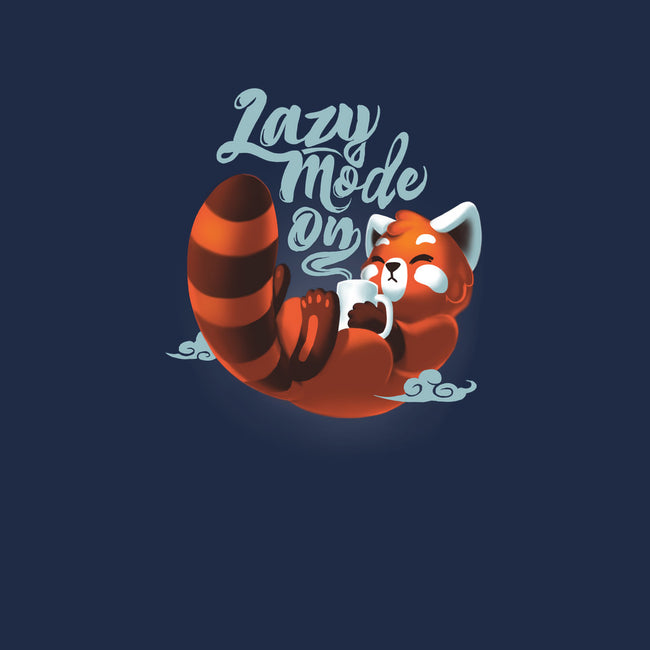 Lazy Mode ON-none glossy sticker-BlancaVidal