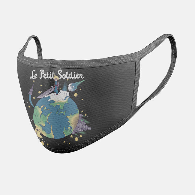 Le Petit Soldier-unisex basic face mask-KindaCreative