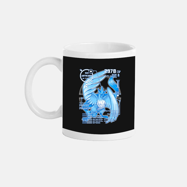 Legendary Blue-none glossy mug-KKTEE