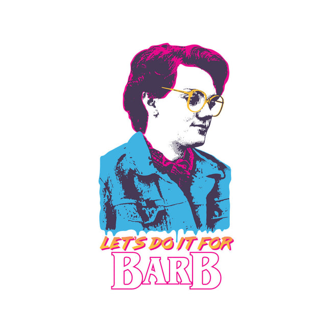 Let's Do It For Barb-none glossy sticker-Jriggs