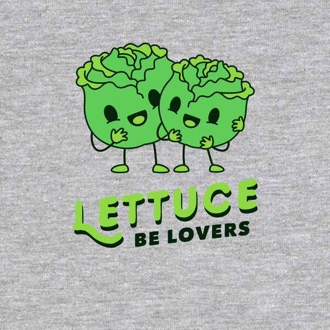 Lettuce Be Lovers-none matte poster-dumbshirts